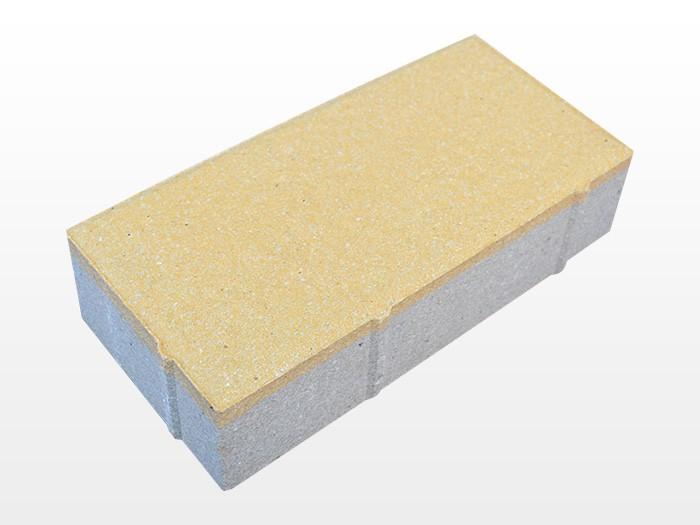 陕西深黄透水砖