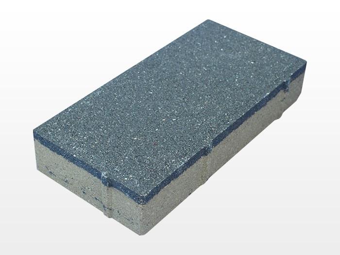 陕西深灰透水砖