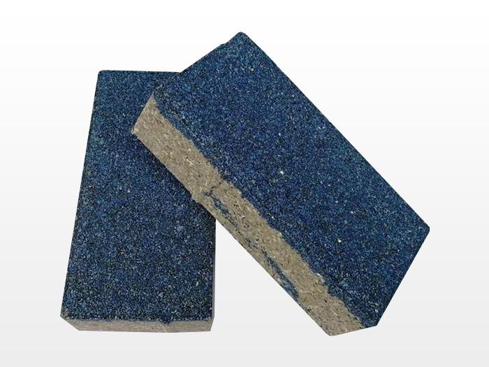 天津蓝色透水砖
